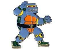 Metal Turtle Enamel Pin