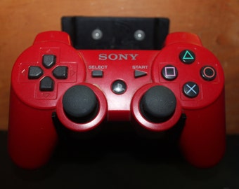 3D Printed PS3 or PS4 Controller Holder w/ Playstation Logo