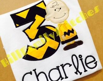 Charlie Brown Birthday Shirt
