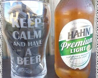 Personalised/Customised Beer Glasses (425ml)
