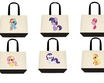 Mane 6 My Little Pony Tote Bags
