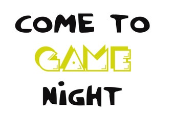 Wanna come to game night