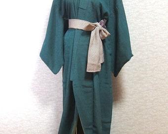 Antique Japanese dress /Kimono robe/vintage kimono