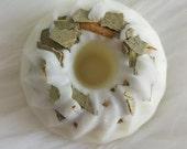 Eucalyptus - Soy Wax Tarts - Wax Tarts - Wax Melts - Mini Bundt Cakes Tarts - 6 pcs - Aromatherapy - Infused with Organic Herbs - 3 oz total