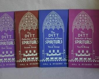 "Four Volume ""The Dett Collection of Spirituals"""