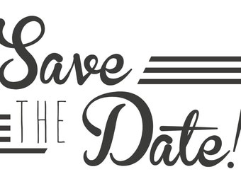 Save the Date - GlamourDaze