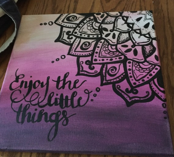 Items similar to mandala canvas on etsy for Pictures to draw on canvas