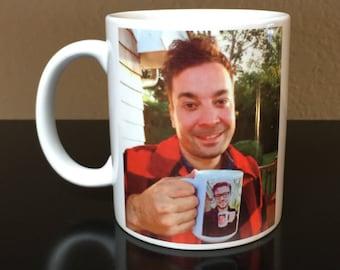 Jimmy Fallon Mug, Ew Mug, Justin Timberlake Mug, Jimmy Fallon and Justin Timberlake, Funny Mugs, Fallon Timberlake, funny mug, coffee mug