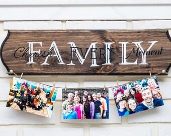 Custom Wood Sign - Family Sign - Anniversary Gift