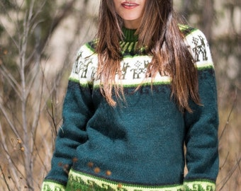 Gamboa Andean Decoration Alpaca Sweater