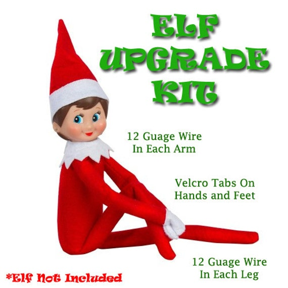 Upgrade Your Elf On The Shelf Make Your Elf On A By Elf2point0