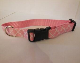 Cute pink collar