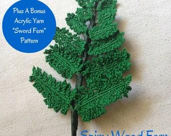 Crochet Fern Pattern, Fern Pattern, Ferns