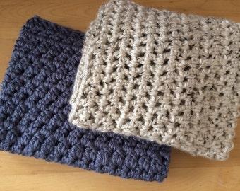 Newborn prop blanket, crochet mini blanket, crochet basket stuffer, newborn layering blanket, newborn photo prop