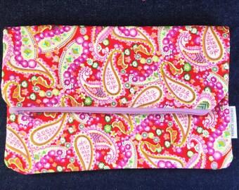 Beautiful Handmade Zipped Pouch