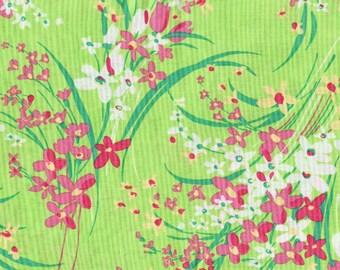 Flowers - 1 yd - Vintage Vibe - Marcus  by Faye Burgos