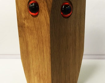 LCwood handmade owl