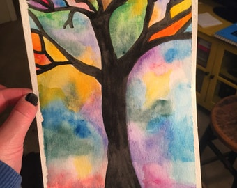 Tree of Life original watercolor
