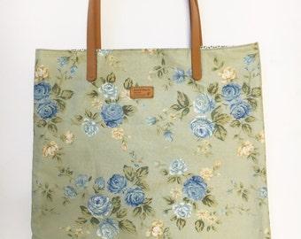 Spring Summer Flower Bag Purse