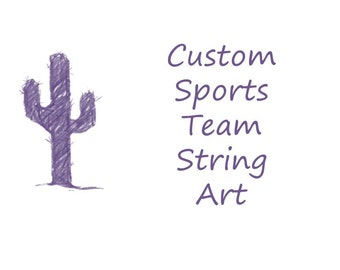 Custom Team String Art