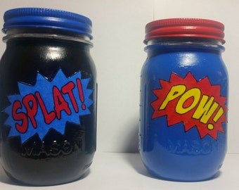 Superhero Action Jars