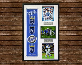 Kansas City Royals 2015 World Series Champions Heritage Wall Art