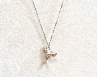 Hummingbird Necklace ~ Silver/Gold