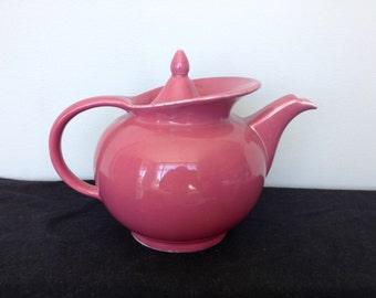 Vintage Hall Bibbed Teapot Rose
