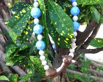 Handmade Squirrel Necklace