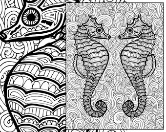 View Nautical Coloring Pages by TheColoringAddict on Etsy
