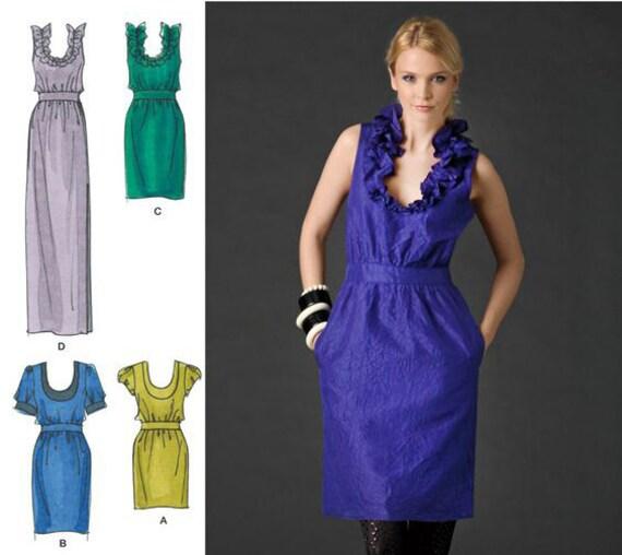 Cynthia Rowley Sewing Patterns: CYNTHIA ROWLEY DRESS Simplicity 2497 Sewing Pattern By