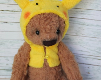 "Plush, Teddy ""Pikachu Cosplay"", 21 cm"