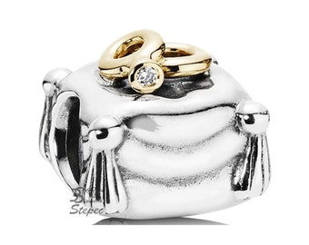 Pandora Romantic union, diamond, sterling silver with 14K gold