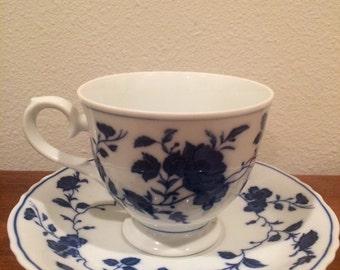 Vintage Royal Meissen teacup and saucer