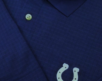 "CUTTER & BUCK ""CB DryTec"" Golf Polo Featuring Indianapolis Colts Logo (Men's Medium)"