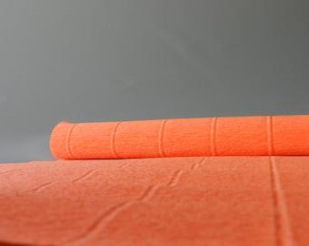 Orange Italian Crepe Paper