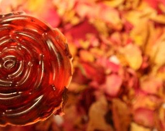 Glycerin soap Rose
