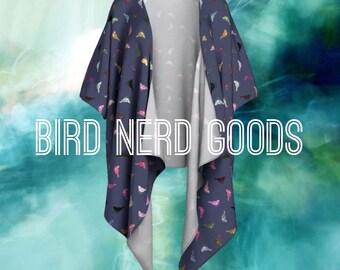 Little Birds Drape Front Cardigan