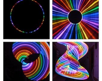 2 Circuit Rainbow Alternating Solid & Strobe