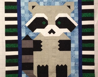 Rocky The Raccoon Quilt