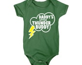 Daddy's Little Thunder Buddy Onesie