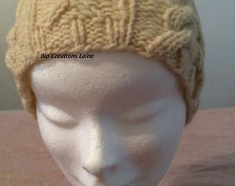 Organic pure Virgin wool hat