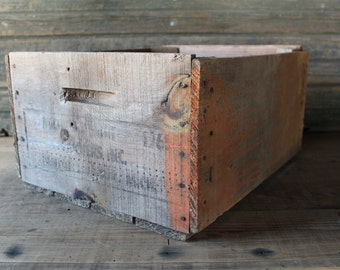Michigan Fruit Canners Inc. crate