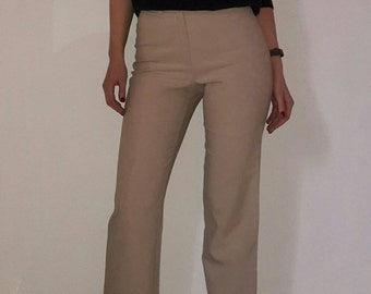 J.JOXS Beige Color Cropped Pants