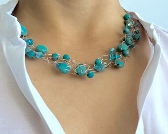 Turquoise set Sterling Silver