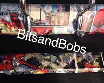 Spider-Man coat hooks, key holder, coat hanger, key hooks, clothes hanger, clothes hooks