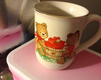 VintageTeddy Bear Mug