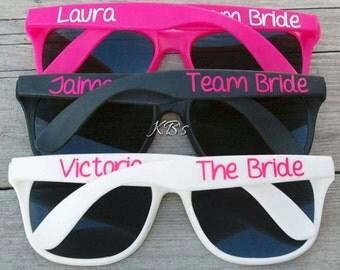 Personalized sunglasses wedding Etsy
