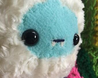 Fuzzy Yeti Plush Toy