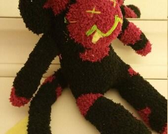 little monster sock monkey